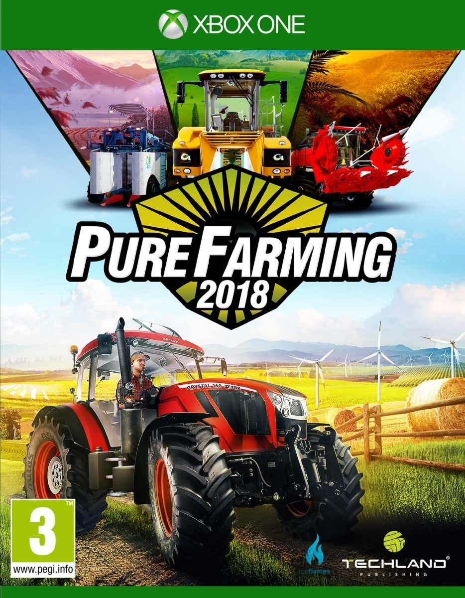 Pure Farming 2018 PL +DLC  (Xbox One)